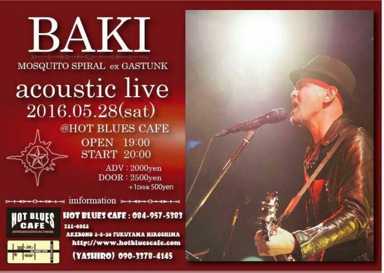 BAKI acoustic live