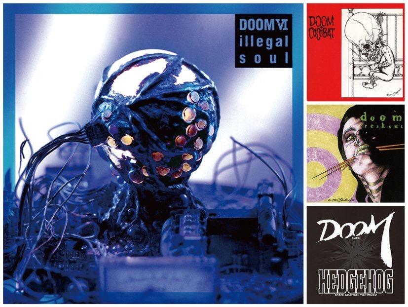 "PAZZ info - DOOM ""illegal soul"" reissue"