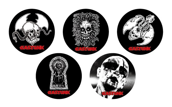 GASTUNK / Badge Set(缶バッジ)
