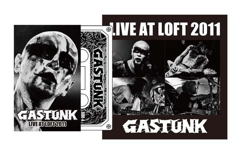 "GASTUNK / Cassette Tapes ""LIVE AT LOFT 2011"""