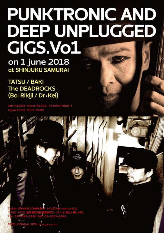 PUNKTRONIC AND DEEP UNPLUGGED GIGS. Vo1